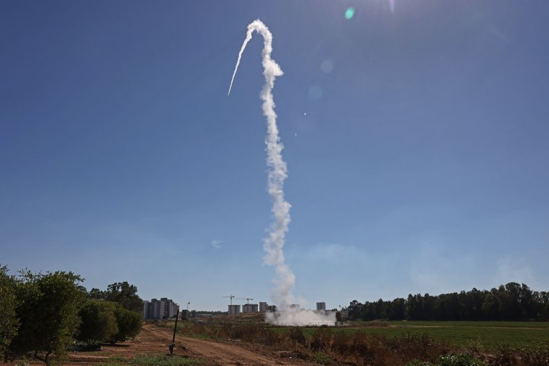 Israel's Iron Dome aerial defence system