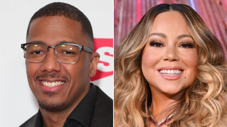 Nick Cannon and his ex-wife Mariah Carey