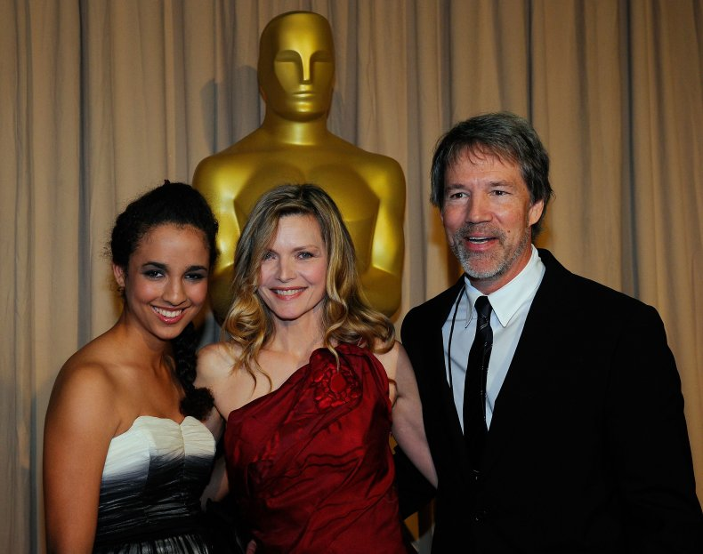 Michelle Pfeiffer posed alongside daughter Claudia Rose