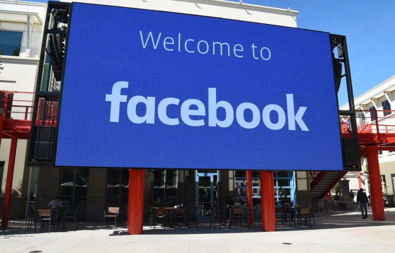'Welcome to Facebook' Sign