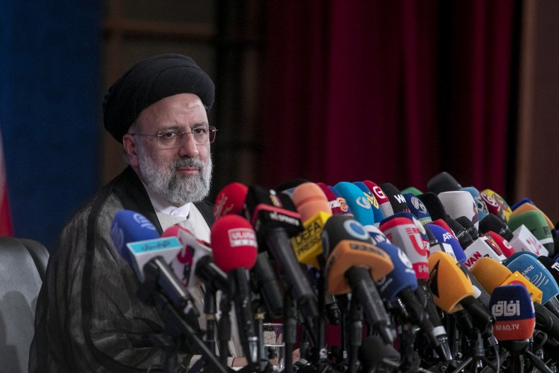 Iranian President-Elect, Ebrahim Raisi