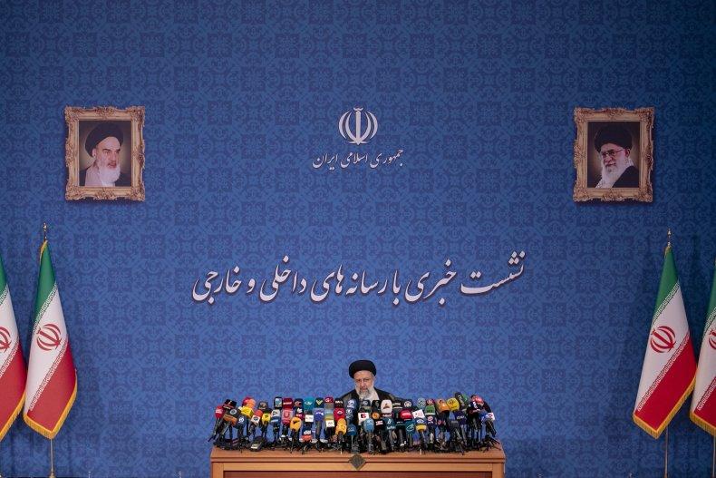 President-Elect Ebrahim Raisi News Conference