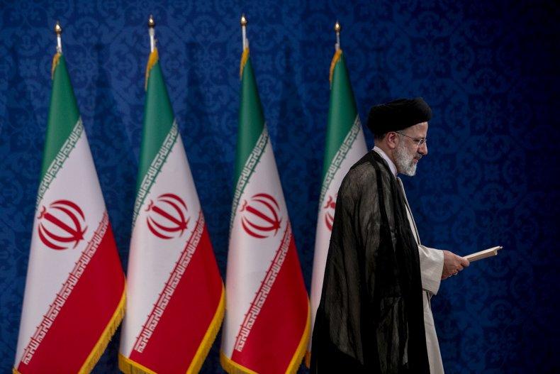 Iran, President, elect, Ebrahim, Raisi, press, conference