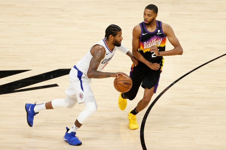 Paul George of the LA Clippers