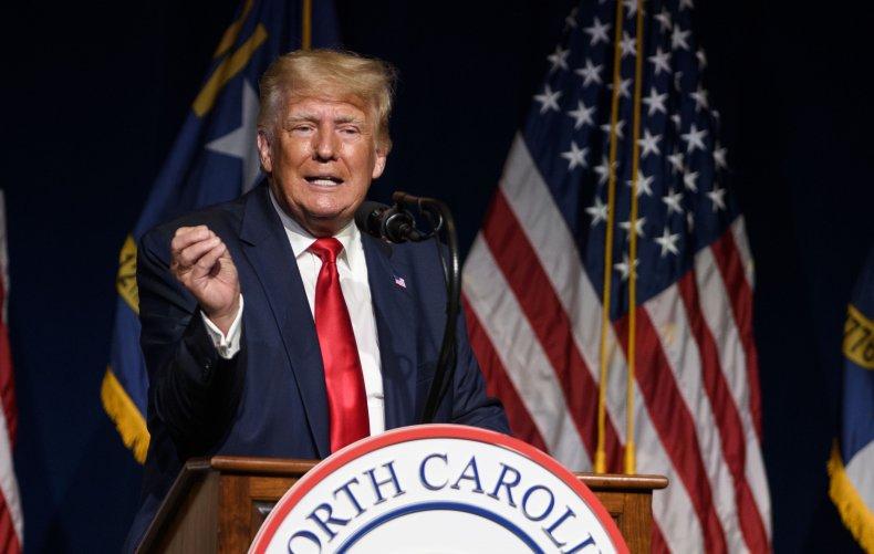 Donald Trump address NCGOP convention