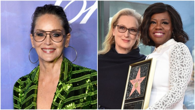 Sharon Stone discusses Meryl Streep, Viola Davis