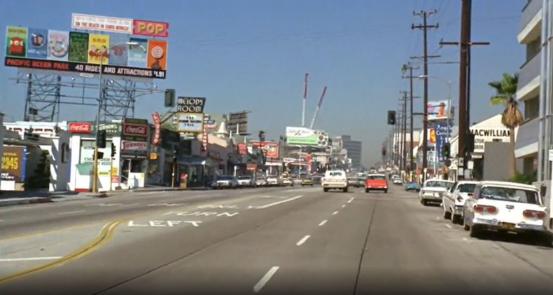 Rare color footage of 1960s L.A.