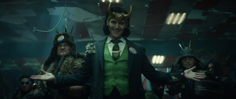 Tom Hiddleston as Loki on Disney+