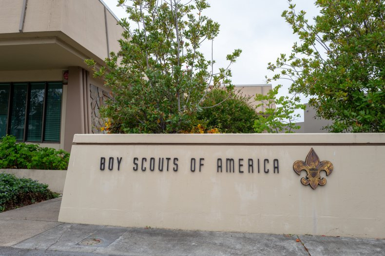 Boy Scouts find human remains