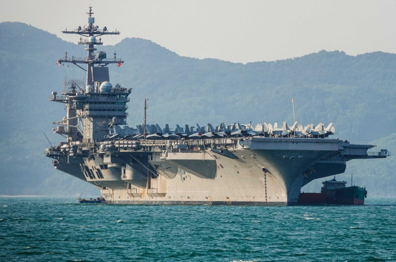 United States aircraft carrier, USS Carl Vinson