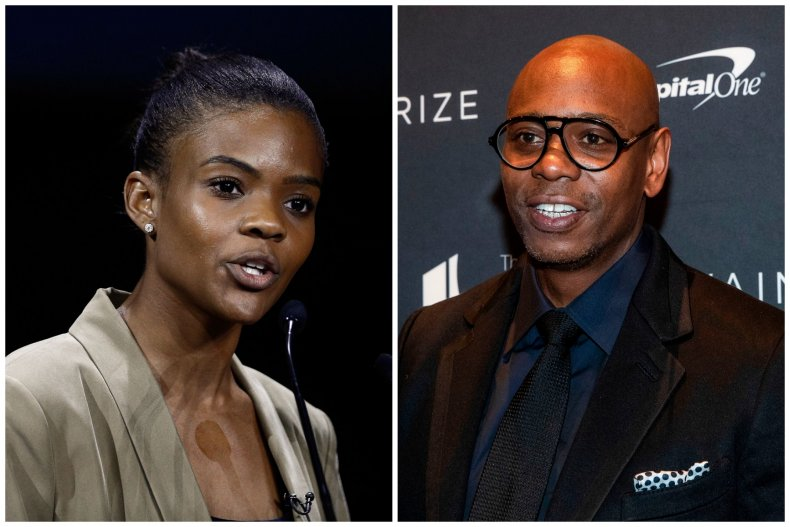 Dave Chappelle and Candace Owens