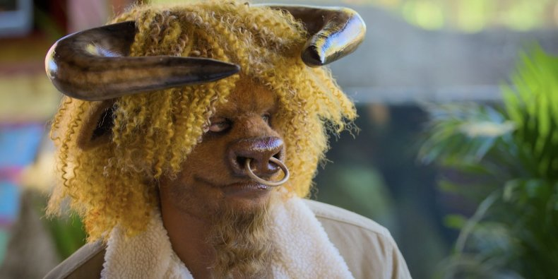 The bull on Netflix series Sexy Beasts