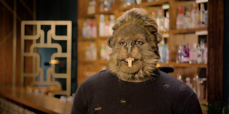 A gopher on Netflix series Sexy Beasts