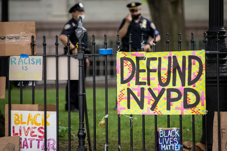 Defund the Police New York City Mayoral