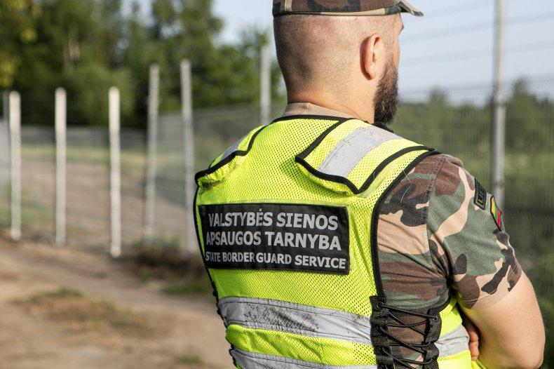 Lithuania border guard