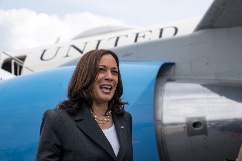 Vice President Harris Visits Atlanta For Vaccine