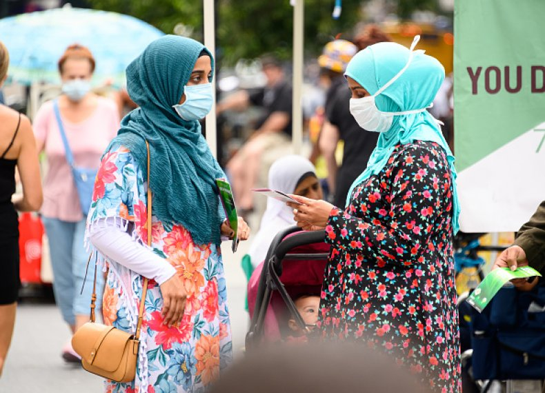 Anti-Muslim Attack Hijab NYC