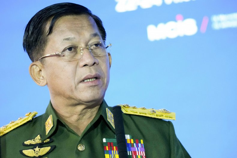 Moscow Conference Min Aung Hlaing