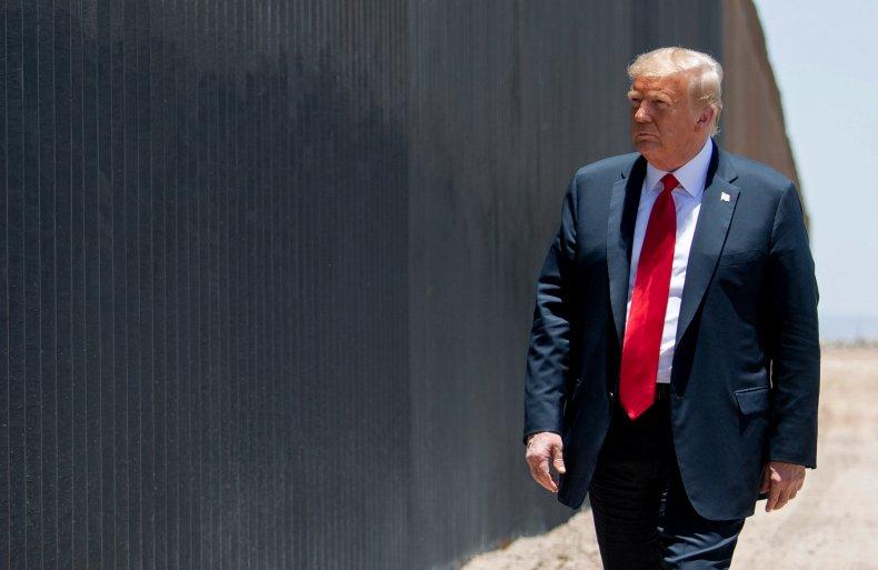 Trump Reax to Kamala Harris Border Visit