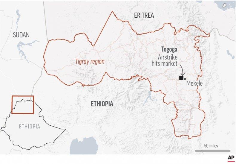 Airstrike Ethiopia