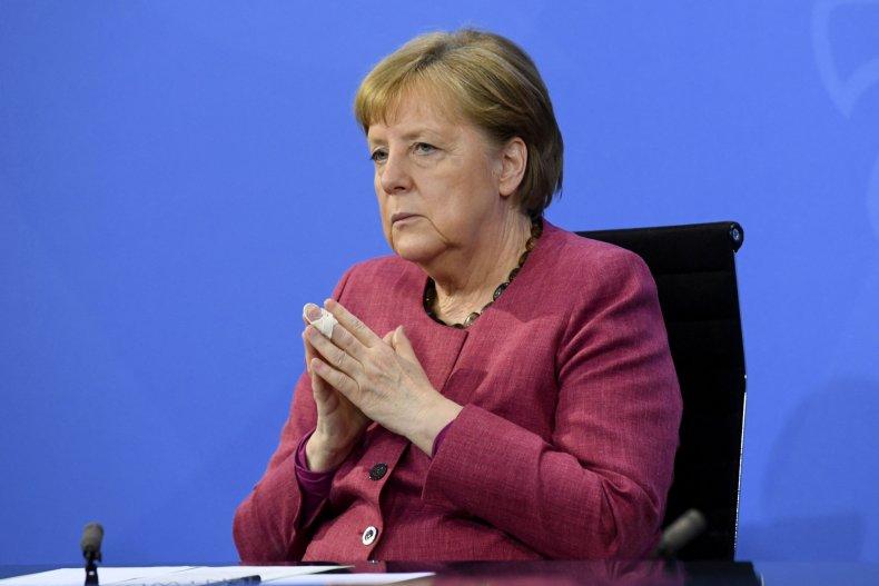 Angela Merkel Vaccines