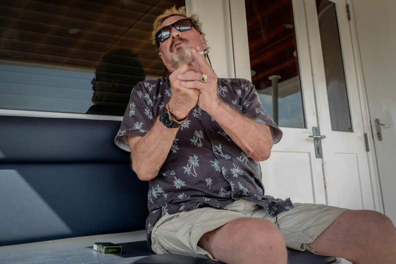 John McAfee Interview 2019