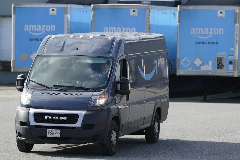 Amazon delivery van