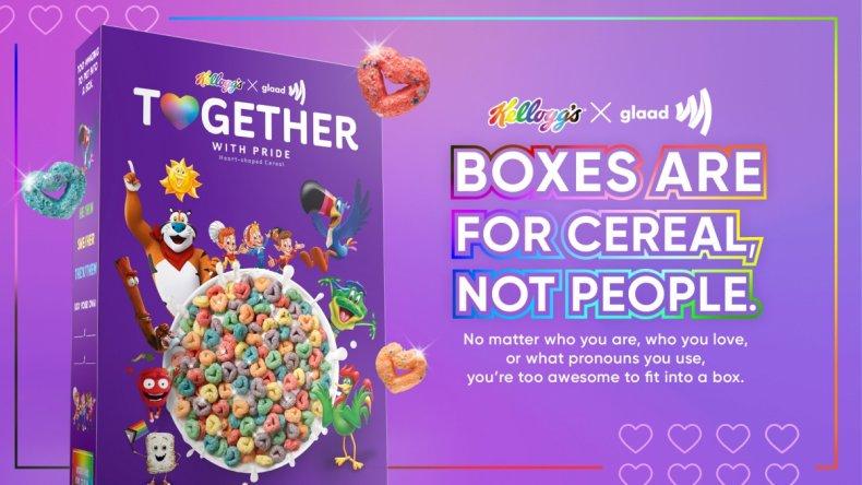 American Family boycott Kellogg's gay LGBTQ Pride