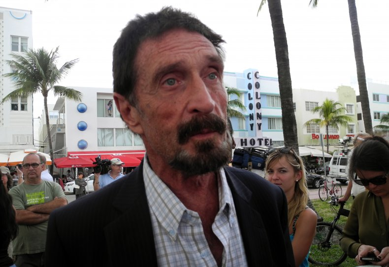 john mcafee conspiracy theory death suicide