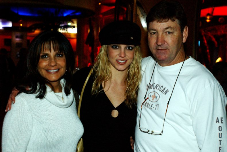 Britney Spears and parents