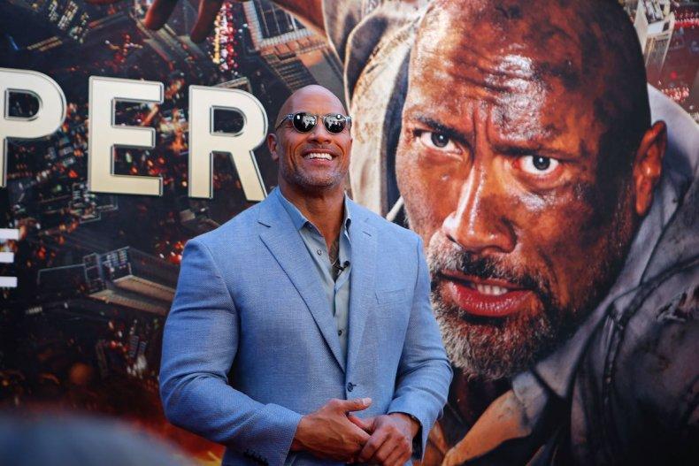 Premiere Skyscraper, Dwayne 'The Rock' Johnson