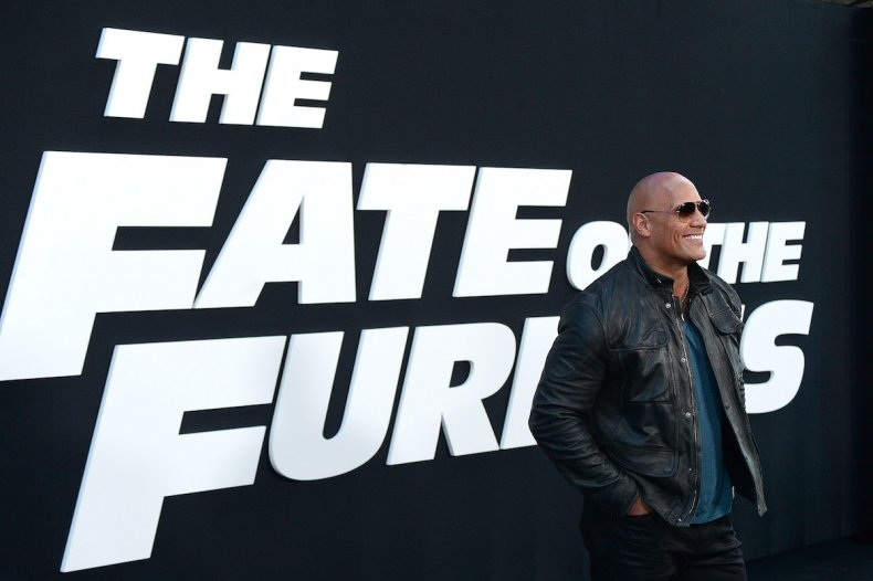 The Fate of the Furious Premiere, TheRock
