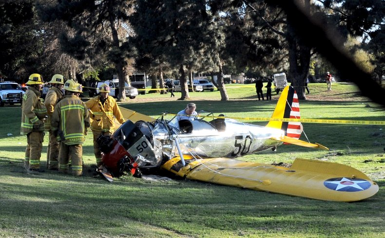 Harrison Ford's crashed plan in 2015