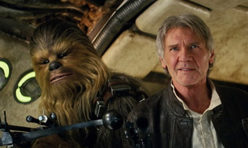 Chewbacca and Han Solo - Harrison Ford