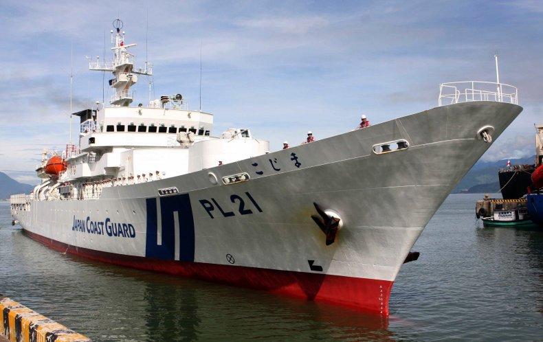 Japan Coast Guard Vessel In Vietnam Visit