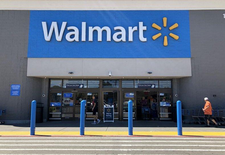 A Walmart store in California.