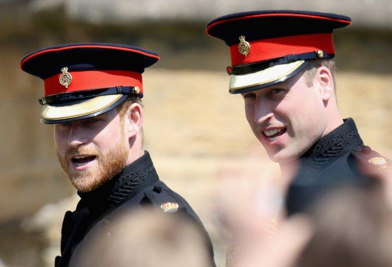 Prince Harry, Prince William at Royal Wedding