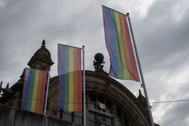 Rainbow Flags in Germany