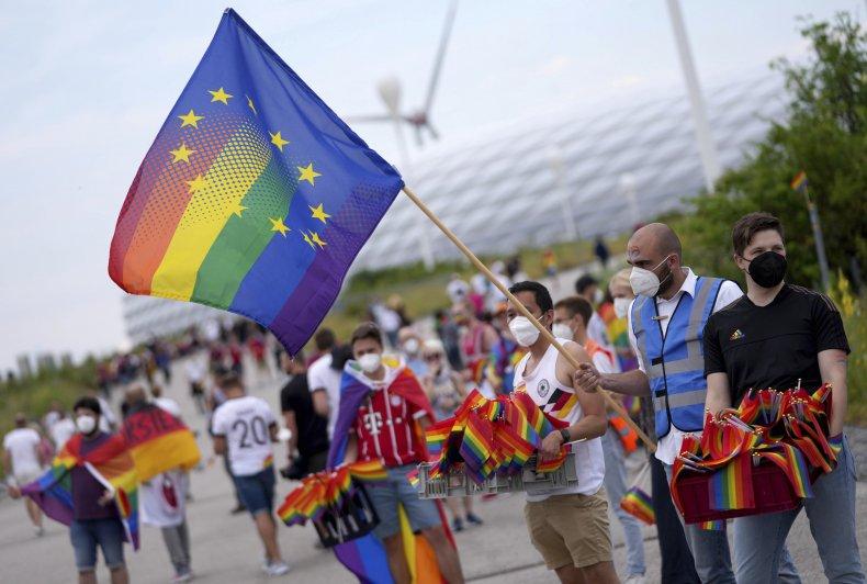 LGBT Pride Flags in Europe