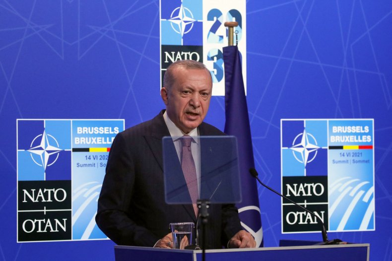 Tayyip Erdogan NATO