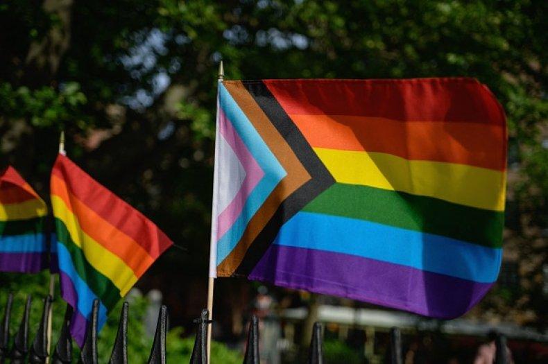 LGBT Valedictorian Speech Pride Flag Graduation
