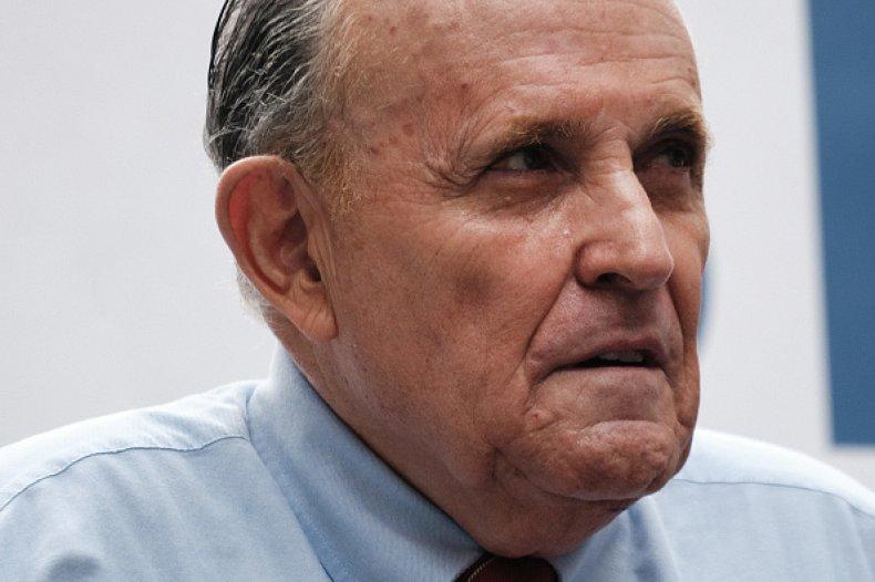 Rudy Giuliani Suspended Law New York