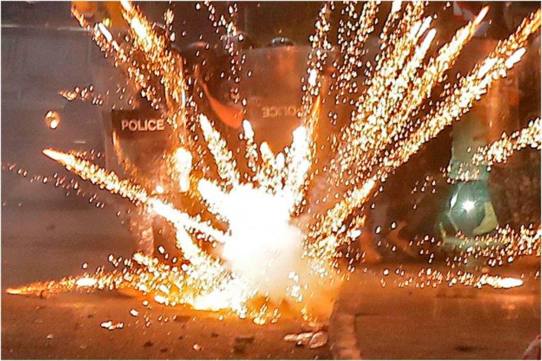 Teens set off fireworks in Hy-Vee