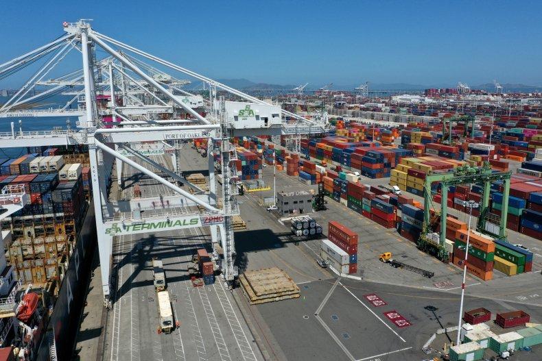 Port of Oakland, California