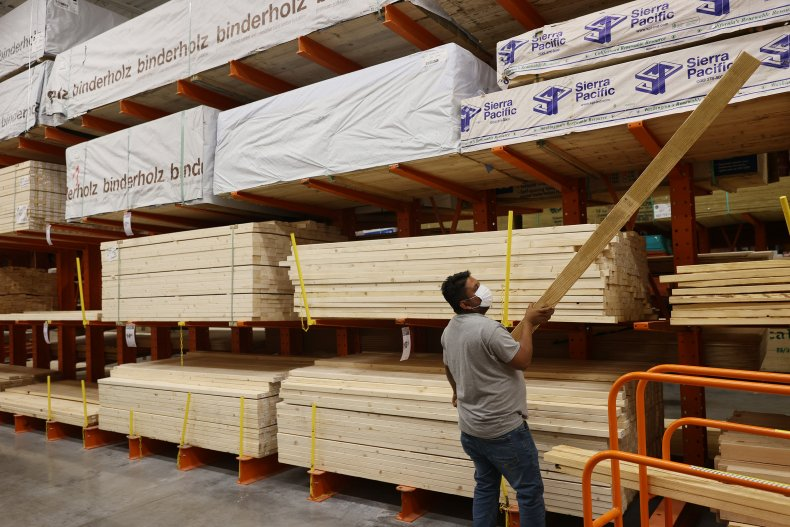 Lumber Prices Continue To Rise Sharply