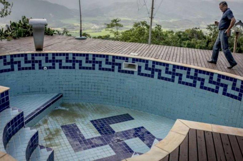 Pugliesi's swimming pool