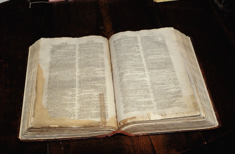 Dr Samuel Johnson's (1709-1784) dictionary, which was
