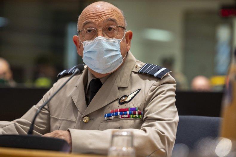 Stuart Peach at EU Military Committee Meeting