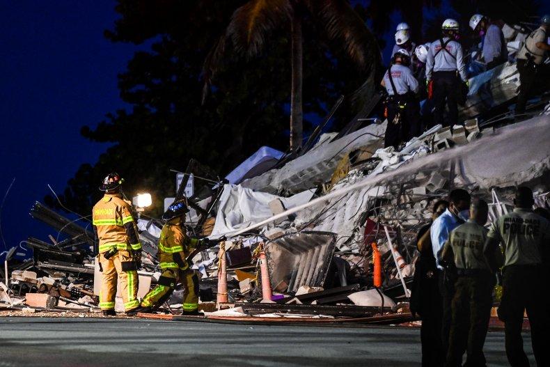 Surfside, Miami Beach, building collapse