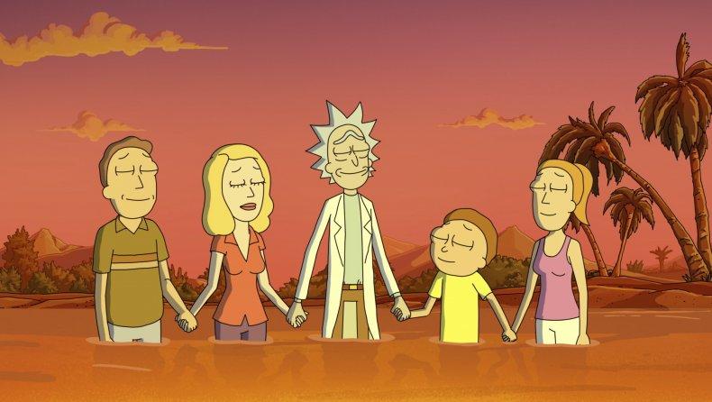 Rick and Morty at peace Season 5